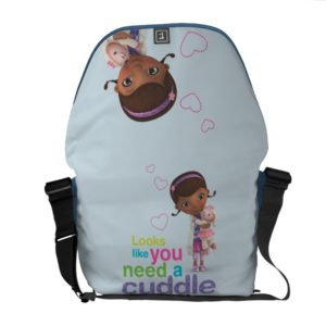Looks Like You Need a Cuddle Courier Bag