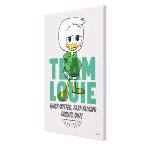 Louie Duck | Team Louie Canvas Print