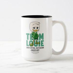 Louie Duck | Team Louie Two-Tone Coffee Mug