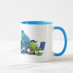 Mike and Sulley Reading Mug