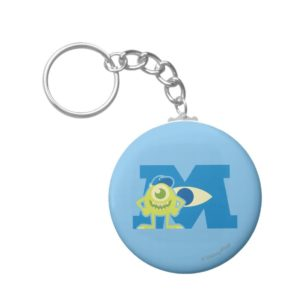 Mike M Logo Keychain