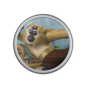 Monkey Fight Pose Bluetooth Speaker