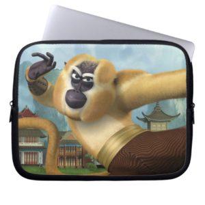 Monkey Fight Pose Laptop Sleeve