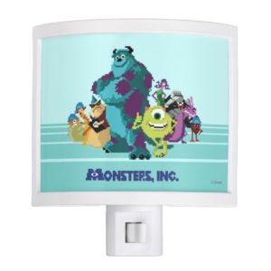 Monsters Inc 8Bit Mike, Sully, and the Gang Night Light