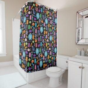 Monsters, Inc. | Character Pattern Shower Curtain