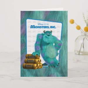 Monsters, Inc. Sulley Card