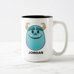 Monsters, Inc. | Sulley Emoji Two-Tone Coffee Mug