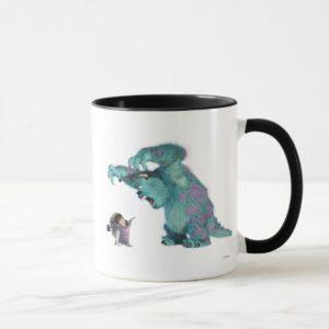 Monsters, Inc. Sulley scaring Boo Disney Mug