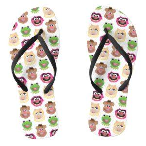 Muppets Emoji Flip Flops