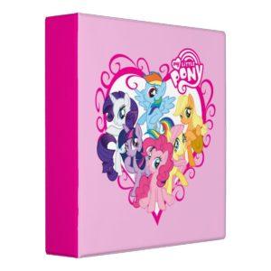 My Little Ponies Heart Binder