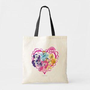 My Little Ponies Heart Tote Bag