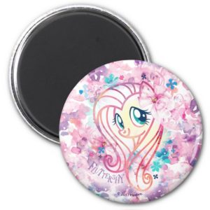 My Little Pony | Fluttershy Floral Watercolor Magnet