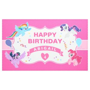 My Little Pony | Hot Pink Birthday Banner