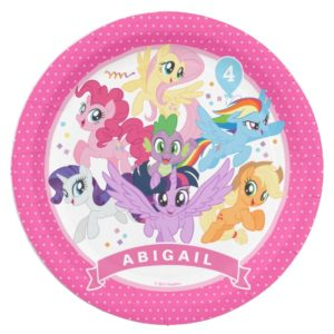 My Little Pony | Hot Pink Birthday Paper Plate