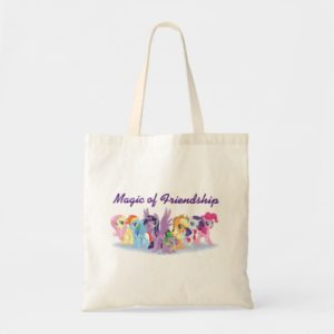My Little Pony   Mane Six in Equestria Tote Bag