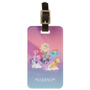 My Little Pony | Mane Six on Clouds Bag Tag