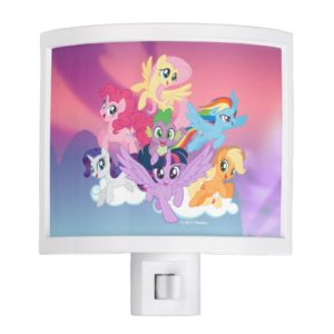 My Little Pony | Mane Six on Clouds Night Light