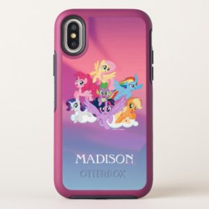 My Little Pony | Mane Six on Clouds OtterBox iPhone Case