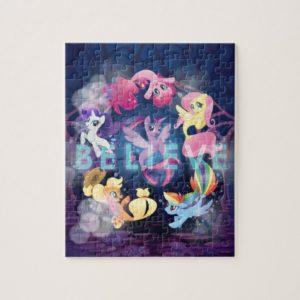 My Little Pony | Mane Six Seaponies - Believe Jigsaw Puzzle