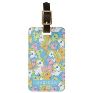 My Little Pony | Pastel Pattern Luggage Tag