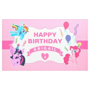 My Little Pony | Pink Birthday Banner