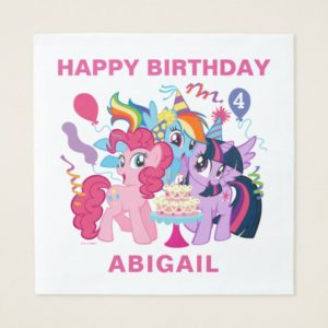 My Little Pony | Pink Birthday Paper Napkin
