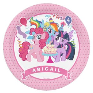 My Little Pony | Pink Birthday Paper Plate