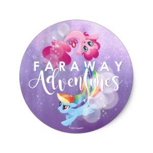 My Little Pony | Pinkie and Rainbow - Adventures Classic Round Sticker