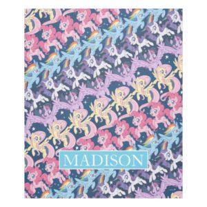 My Little Pony | Pony Rainbow Pattern Fleece Blanket