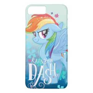 My Little Pony | Rainbow Dash Watercolor Flowers Case-Mate iPhone Case