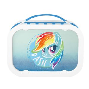 My Little Pony | Rainbow Dash Watercolor Lunch Box