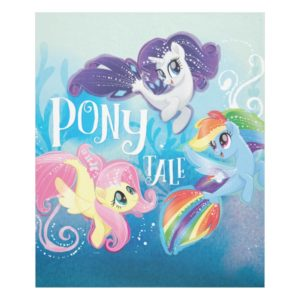 My Little Pony | Seaponies - Pony Tale Fleece Blanket