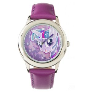 My Little Pony | Twilight Sparkle Watercolor Wrist Watch