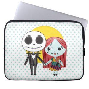 Nightmare Before Christmas | Jack & Sally Emoji Computer Sleeve