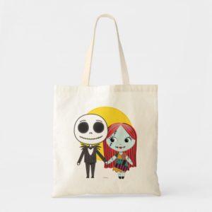 Nightmare Before Christmas | Jack & Sally Emoji Tote Bag