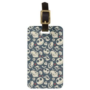 Nightmare Before Christmas   Oh What Joy - Pattern Luggage Tag