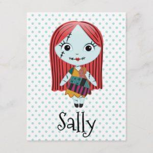 Nightmare Before Christmas   Sally Emoji Holiday Postcard