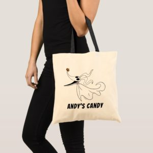 Nightmare Before Christmas | Zero - Add Your Name Tote Bag
