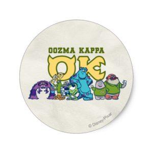 OK - OOZMA KAPPA  1 CLASSIC ROUND STICKER