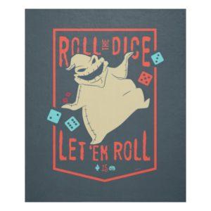 Oogie Boogie | Roll The Dice Fleece Blanket