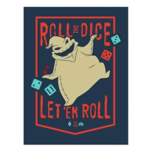Oogie Boogie | Roll The Dice Postcard