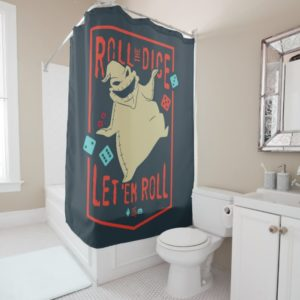 Oogie Boogie | Roll The Dice Shower Curtain
