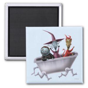 Oogie's Boys | Lock, Shock & Barrel in Bathtub Magnet
