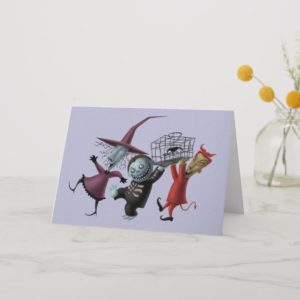 Oogie's Boys | Lock, Shock & Barrel with Cage Holiday Card