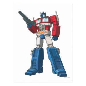 Optimus 1 postcard