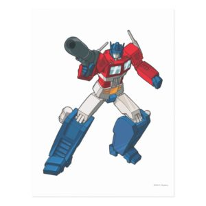 Optimus 2 postcard
