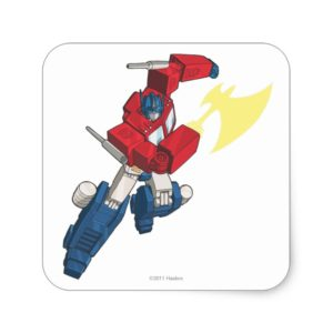 Optimus 3 square sticker