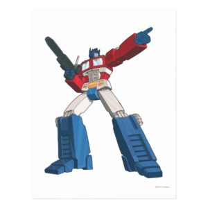 Optimus 5 postcard