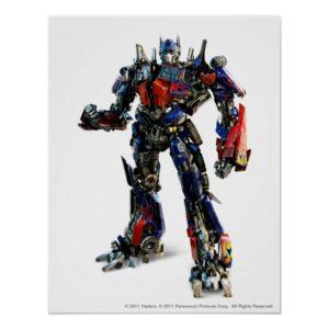 Optimus Prime CGI 2 Poster