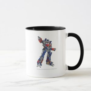 Optimus Prime Line Art 1 Mug